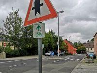 Selb schafft mehr Sicherheit für Radfahrer in der Innenstadt