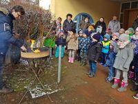Sack und Asche im Kindergarten