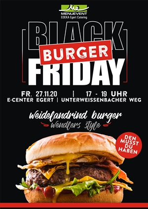 edeka black burger