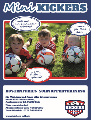 kickers selb flyer2